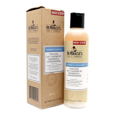 Dr Miracles Tingling 2 In 1 Dandruff Shampoo & Conditioner
