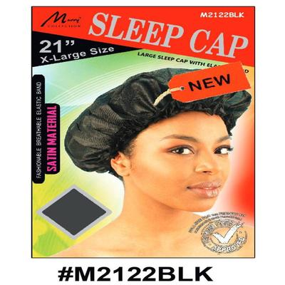 Murry X-large Sleep Cap Black - M2122blk