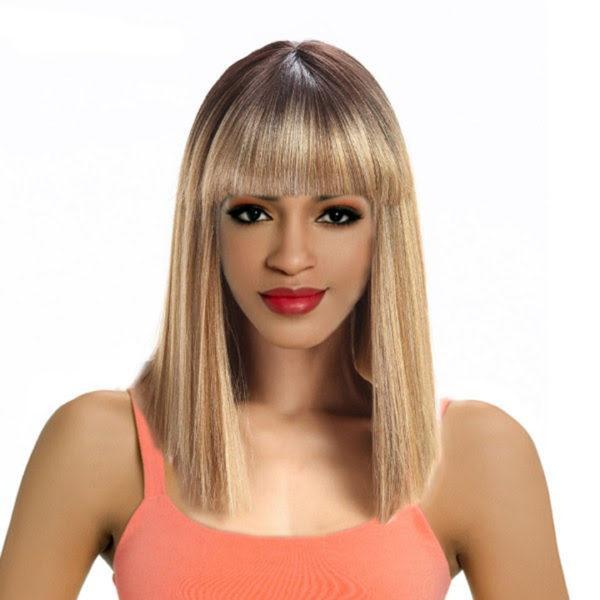 Sleek Tongable Synthetic Wig Tina