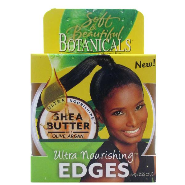 Soft And Beautiful Botanicals Shea Butter Ultra Nourishing Edges
