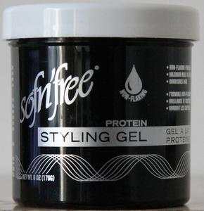 Sof N Free Non Flaking Protein Styling Gel Black