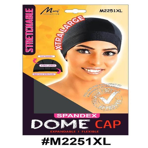 Murry X-large Dome Cap Black - M2251xl