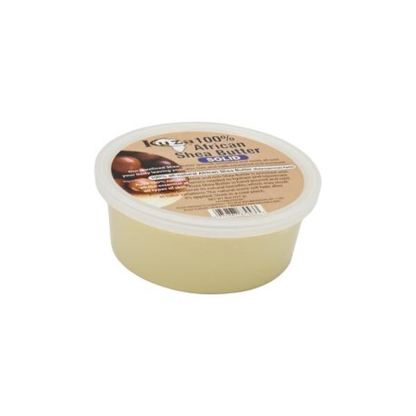 Kuza 100% African Shea Butter White Solid