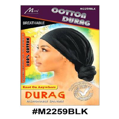 Murry Cotton Durag Black - M2259blk