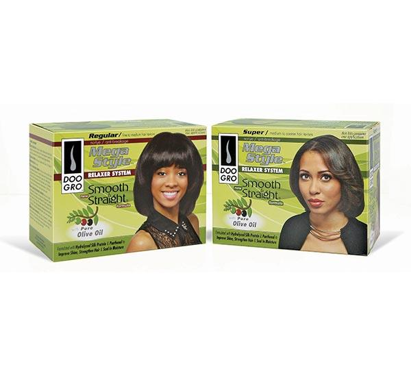 Doo Gro Mega Style Olive Oil Smooth And Straight No-lye Relaxer System