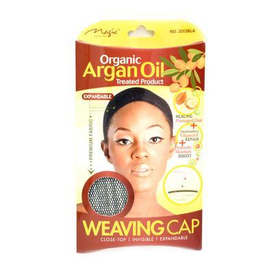 Magic Collection Women's Organic Argan Oil Treated Weaving Cap - 3013Bla