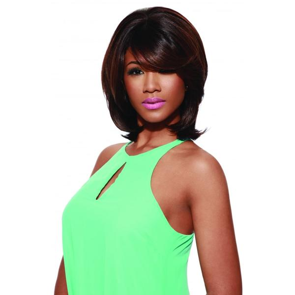 Sleek Tongable Synthetic Wig Amelie