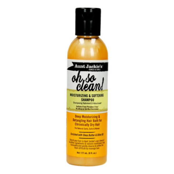Aunt Jackie's oh So Clean Moisturizing & Softening Shampoo