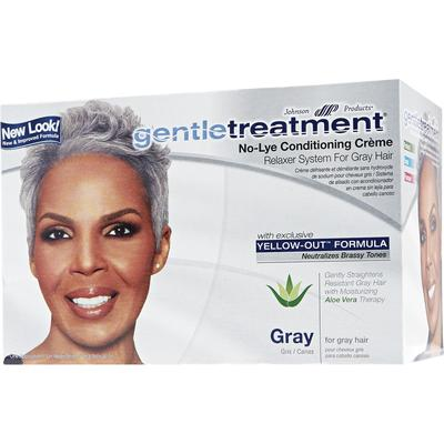 Gentle Treatment No Lye Conditioning Creme Relaxer For Gray Hair