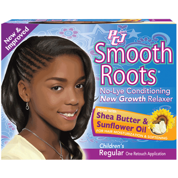 Luster Pcj Smooth Roots No-Lye Conditioning New Growth Relaxer
