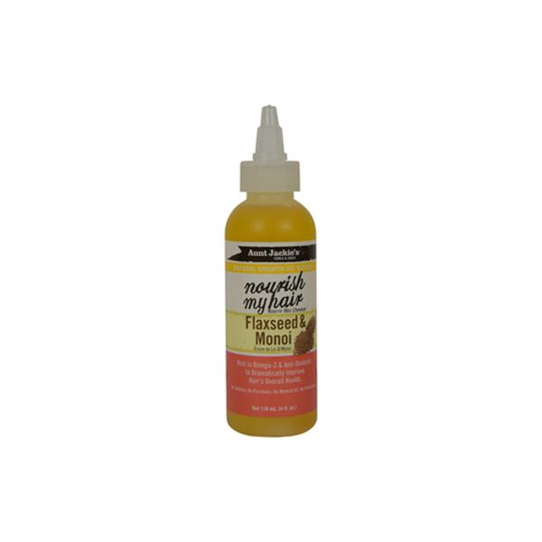 Aunt Jackie's Nourish My Hair - Flaxseed & Monoi Oil