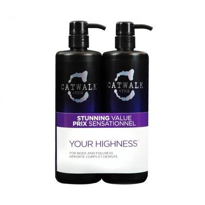 Tigi Catwalk Your Highness Shampoo & Conditioner Duo Pack 750ml