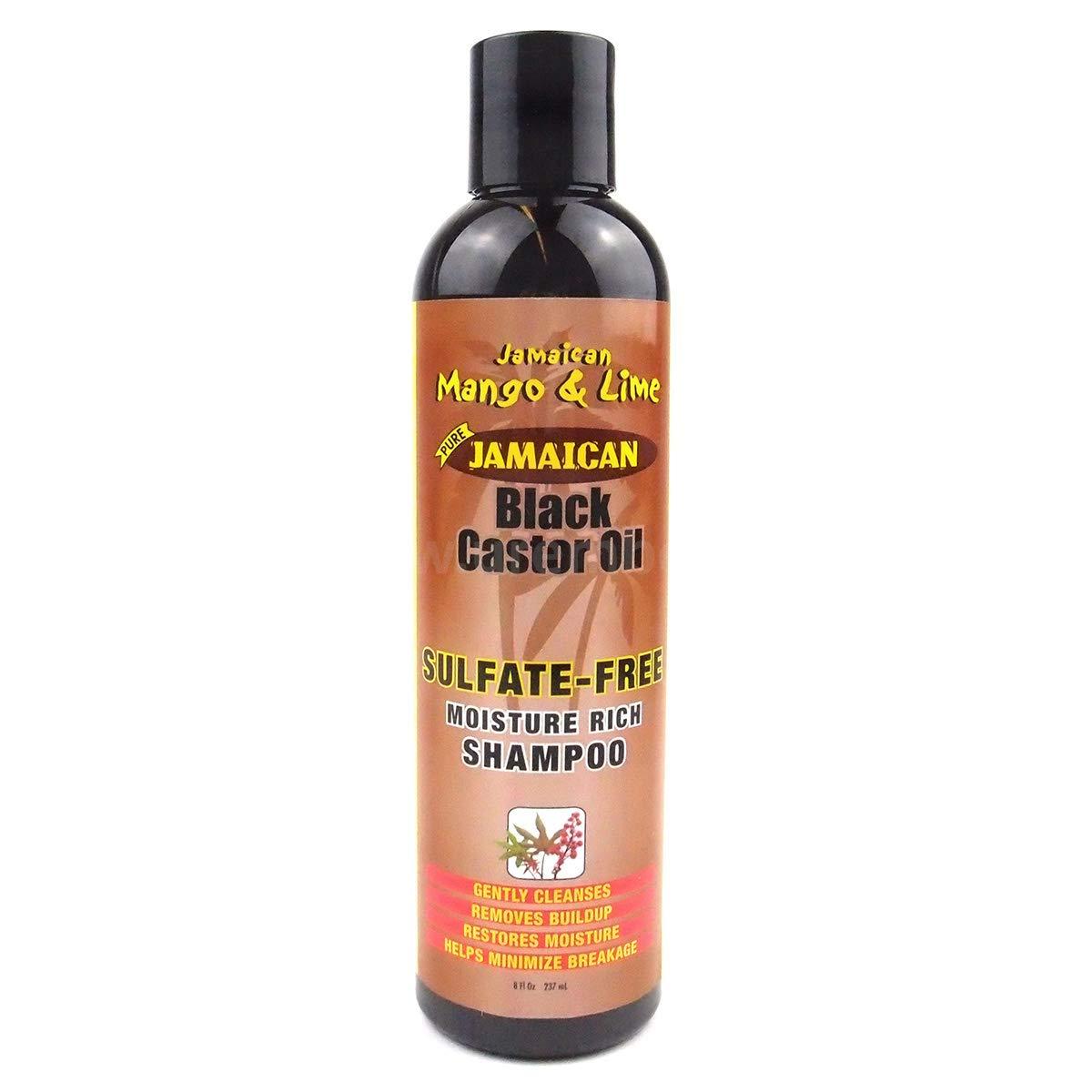 Jamaican Mango & Lime Black Castor Oil Sulfate Free Shampoo 8oz